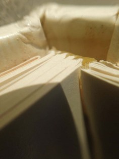Glue cracking and releasing pages